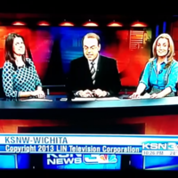 Local newsreader really wants to go home, says very bad word