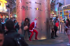 Twerking Santa goes on rampage around Dublin