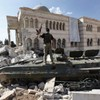 Syrian 'barrel bombs' kill 76 people including 28 children