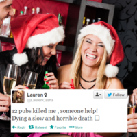 12 people who were defeated by the 12 pubs of Christmas