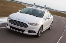 Ford reveals its first self-driving research car