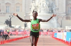 Gallery: Kenyans make clean sweep in London Marathon