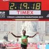 Gallery: Kenyans make clean sweep in London Marathon