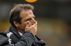 Gianfranco Zola resigns as Watford boss