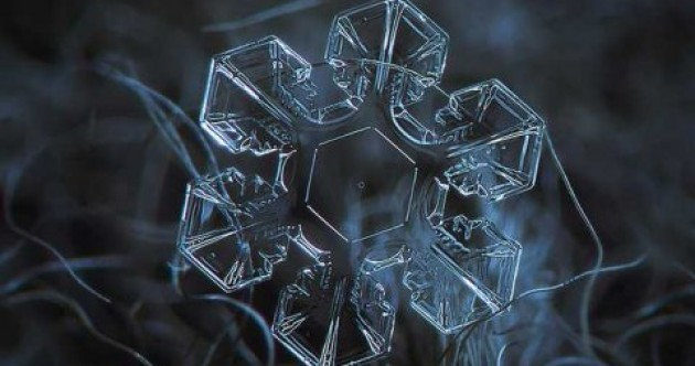 Yes, these photos of snowflakes were taken with regular camera