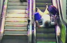 UK's railway authority mortifies customers with escalator fails compilation