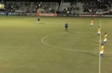 Brazil U17s give up against the USA, literally stop playing