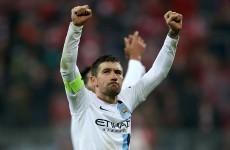 Aleksandar Kolarov's cracking free kick helps Man City earn win