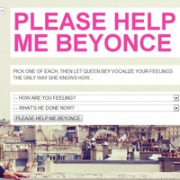 Need guidance from Beyonce? This website will show you the way