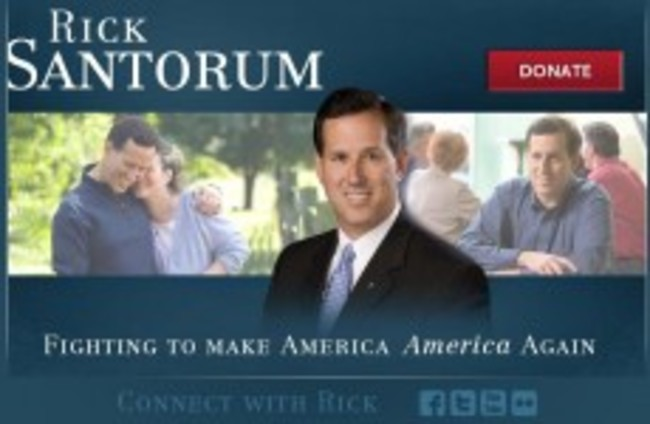 US presidential hopeful distances himself from a slogan written by a gay poet