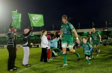 Children can go watch Connacht versus Dragons for free this weekend