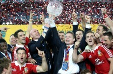 Relive the winning 2013 Lions tour in 25 photos