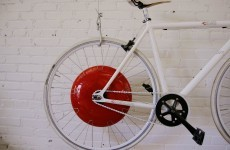 Smart wheel turns bicycles into electric-hybrid vehicle