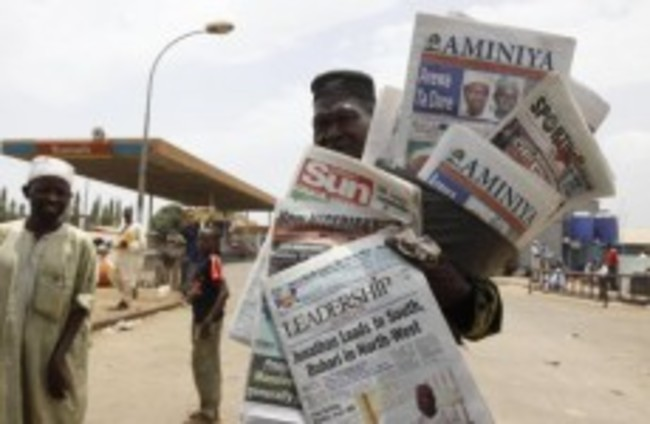 Riots break out in Nigeria over incumbent Goodluck Jonathan's likely election success