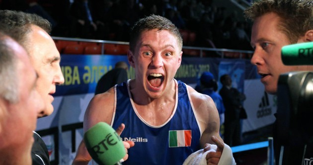 Whole world in his hands: Jason Quigley just getting started after unforgettable 2013