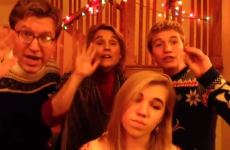 Best family ever cover We Can't Stop to create brilliant Christmas card