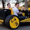 You childhood fantasy just came true... a life size Lego car