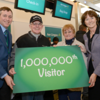 Here's what happens when you are the millionth American to come to Ireland