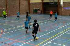 VIDEO: Indoor star is better at football than you