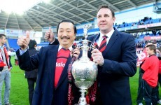 MacKay told to jump or be pushed from Tan's Cardiff ship -- reports