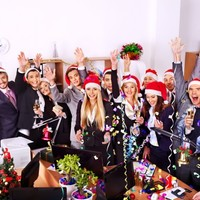 9 signs your office is so ready for the Christmas holidays