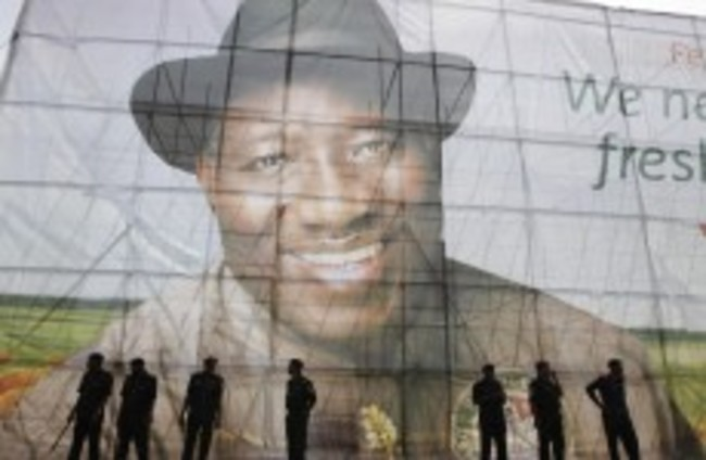 Jonathan appeals for calm after being declared Nigerian winner