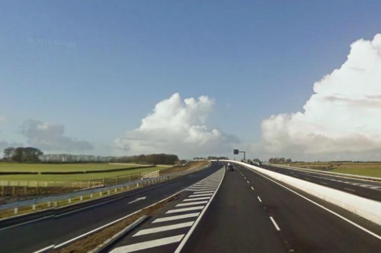 The M6, near Athenry