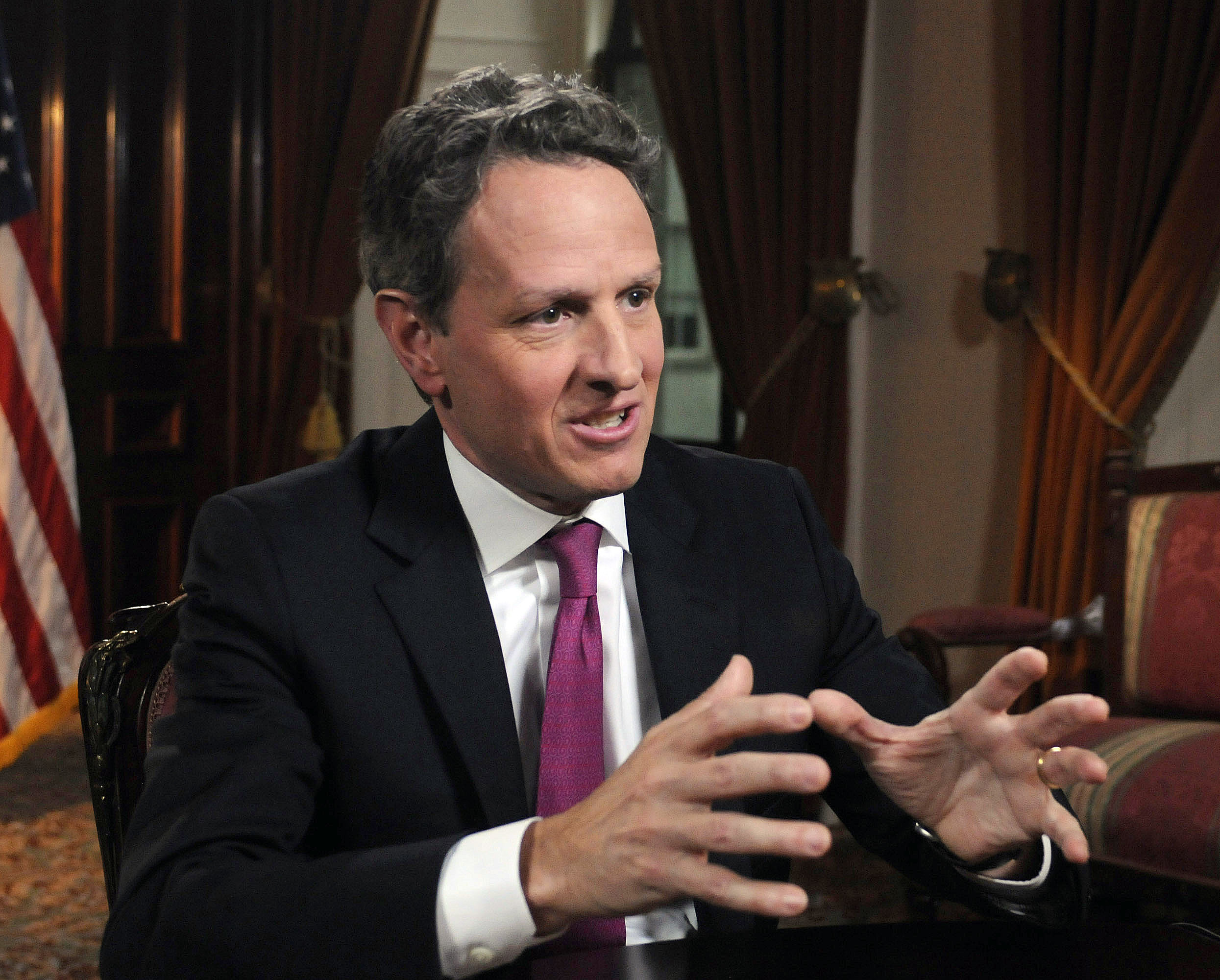US treasury secretary Tim Geithner: Ratings agency S&P was warned that it may cut the USA's Triple-A bond rating.