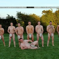 Clondalkin rugby club players bare all for charity calendar