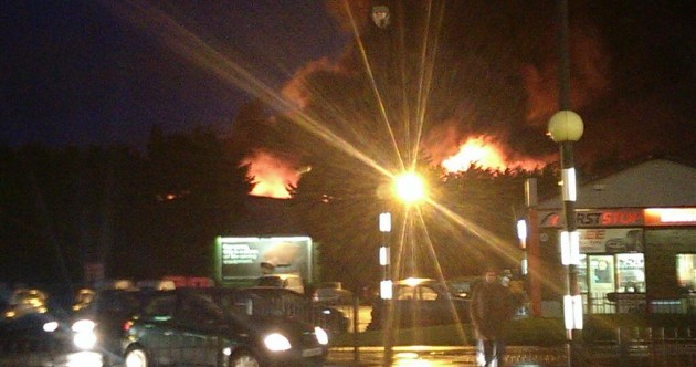 Major blaze at Santry industrial estate brought under control