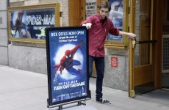 Look out, here comes the Spiderman......but you'll have to wait another month
