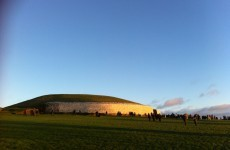 In pictures: The winter solstice at Newgrange