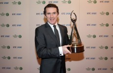 Tony McCoy named RTÉ Sportsperson of the Year