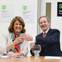 Enda Kenny is now the most popular political leader in Ireland