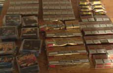 Gardaí confiscate contraband DVDs and cigarettes at Balbriggan market