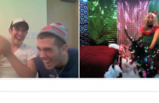 The Chatroulette version of All I Want for Christmas is just the right side of creepy
