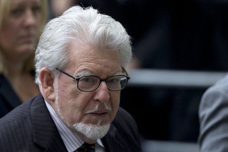 Rolf Harris arrives at court in London in September