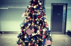 "Check out this incredible ""freedom tree"" in Dublin Airport"