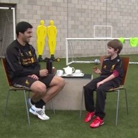 VIDEO: Luis Suarez talks nutmegs, goal celebrations and chocolate digestives