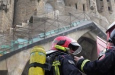 Suspected arsonist starts small fire at Sagrada Familia cathedral