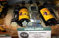Need a last minute pressie? How about a Buckfast hamper?