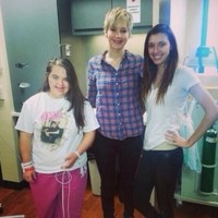 Jennifer Lawrence visited a children's hospital on Sunday in her continued expression of soundness