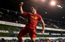 Luis Suarez is 100% the best player in the world - Brendan Rodgers