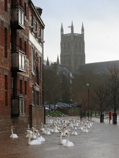 Just a handful of homes still offline after storm, but UK dealing with severe flooding and power cuts