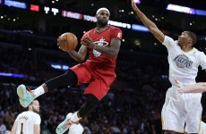 In pictures: NBA teams wear sleeved jerseys for Christmas Day games