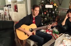 "Son writes Christmas song to tell Dad ""I liked you better deaf"""