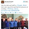 Bernard Brogan and his Dublin team-mates visit sick kids on Christmas Day