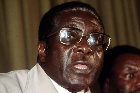 File photo of Robert Mugabe