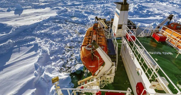 Help on the way for ship trapped off Antarctica since Christmas Eve