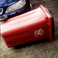 Trampolines and wheelie bins are terrorising the country